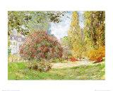 O parque em Monceau Posters por Claude Monet