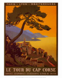 Tour Du Cap Corse Posters by Roger Broders