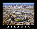 Turner Field - Atlanta, Georgie Affiches par Mike Smith