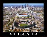 Turner Field - Atlanta, Georgia Posters av Mike Smith