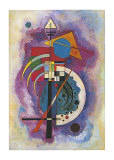 Tribute to Grohmann Poster by Wassily Kandinsky