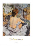 Toilette Prints by Henri de Toulouse-Lautrec