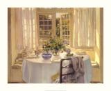 Morgensol i værelset Plakater af Patrick William Adam