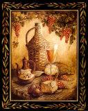 Table toscane - Orvieto Affiches par Gregory Gorham