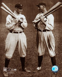 Ty Cobb et « Shoeless » Joe Jackson - ©Photofile Photographie