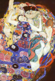 De maagd Posters van Gustav Klimt