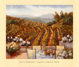 Vineyards to Mount St. Helena Prints by Ellie Freudenstein