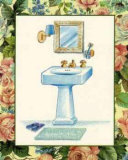 Wash Basins and Robes III Prints by Sheila Higton
