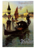 Venise Posters by Hugo D'Alesi