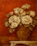 Villa Flora Hydrangeas Art by Pamela Gladding