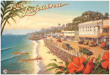 Visit Lahaina Poster by Kerne Erickson