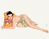 Pin-up de Vargas Photographie par Alberto Vargas
