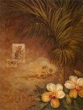 Coucher de soleil aux Caraïbes II Affiches par Pamela Gladding
