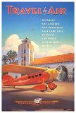 Western Air Express Kunstdruck von Kerne Erickson