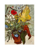 Vase of Poppies Prints by Vincent van Gogh