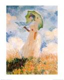 Claude Monet - Woman With Umbrella - Sanat