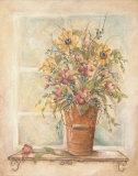 Wildflower Bouquet II Art by Kate McRostie