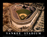Yankee Stadium - Opening Day 1992 Posters by Mike Smith