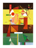 Zersetzte Spannung Prints by Wassily Kandinsky