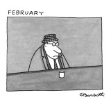 February - New Yorker Cartoon Premium Giclee Print by Charles Barsotti
