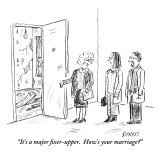 """It's a major fixer-upper.  How's your marriage?"" - New Yorker Cartoon Premium Giclee Print by David Sipress"