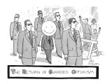 The Return of Guarded Optimism - New Yorker Cartoon Premium Giclee Print by Leo Cullum
