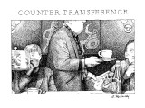 Counter Transference: Title. - New Yorker Cartoon Premium Giclee Print by Ann McCarthy
