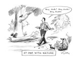 At One With Nature - New Yorker Cartoon Premium Giclee Print by Mike Twohy
