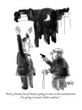 """Sorry, friend, but if they're going to mess with entitlements I'm going t…"" - New Yorker Cartoon Premium Giclee Print by Donald Reilly"