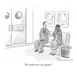 &quot;His underwear was spotless.&quot; - New Yorker Cartoon Premium Giclee Print by Danny Shanahan