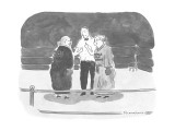 "Referee in boxing ring giving rules to two grannies, one with the name ""Ap… - New Yorker Cartoon Premium Giclee Print by Danny Shanahan"