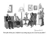 """Even after all these years, I still find it very exciting using my vote t…"" - New Yorker Cartoon Premium Giclee Print by Danny Shanahan"