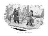 """It's me, Tom—Huck Finn!"" - New Yorker Cartoon Premium Giclee Print by Danny Shanahan"