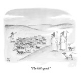"""The kid's good."" - New Yorker Cartoon Premium Giclee Print by Paul Noth"