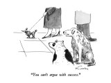 """You can't argue with success."" - New Yorker Cartoon Premium Giclee Print by Mike Twohy"