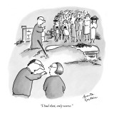 """I had that, only worse."" - New Yorker Cartoon Premium Giclee Print by Benita Epstein"
