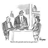 """Stick to the specials and no one gets hurt."" - New Yorker Cartoon Premium Giclee Print by John Klossner"