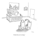 """I think this one's in the bag."" - New Yorker Cartoon Premium Giclee Print by Zachary Kanin"
