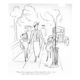 """""""Nous allons maintenant à Bloomingdale's, n'est-ce pas, pour achêter un to… Premium Giclee Print by Barbara Shermund"""