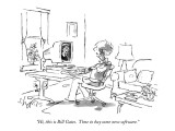 """Hi, this is Bill Gates.  Time to buy some new software."" - New Yorker Cartoon Premium Giclee Print by Sidney Harris"