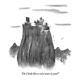 """Do I look like a wise man to you?"" - New Yorker Cartoon Premium Giclee Print by Frank Cotham"