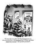 """""""You mean when I use a phrase like 'Pharaoh dreamed seven cows came up out…"""" - New Yorker Cartoon Premium Giclee Print by Ed Fisher"""