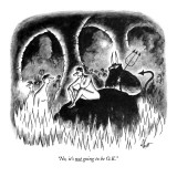 """No, it's not going to be O.K."" - New Yorker Cartoon Premium Giclee Print by Frank Cotham"