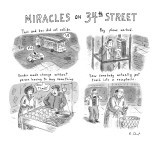 Miracles on 34th Street. - New Yorker Cartoon Premium Giclee Print by Roz Chast
