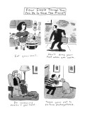 Four Simple Things You Can Do to Save the Planet - New Yorker Cartoon Premium Giclee Print by Danny Shanahan