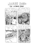 JAMES BOND: THE CUTBACK YEARS - New Yorker Cartoon Premium Giclee Print by Roz Chast