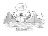 34th Honeymoon - New Yorker Cartoon Premium Giclee Print by Mick Stevens