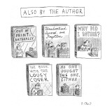 'Also by the Author' - New Yorker Cartoon Premium Giclee Print by Roz Chast