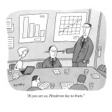 """As you can see, Henderson has no brain."" - New Yorker Cartoon Premium Giclee Print by Peter C. Vey"