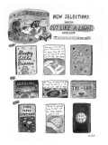 New Selections from the Out Like A Light® Book Club - New Yorker Cartoon Premium Giclee Print by Roz Chast